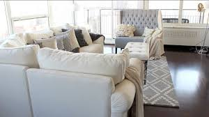 Grey White Beige Living Room Home Décor  Home Accents - White and grey living room design