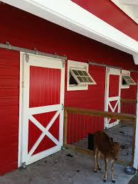 Red Barn Doors by News Archive
