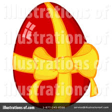 easter egg clipart 1096658 illustration by hit toon