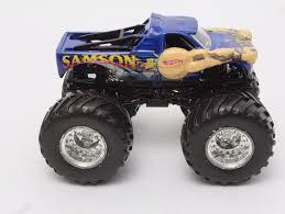 monster jam toy trucks wheels monster jam blue samson die cast toy monster truck toy