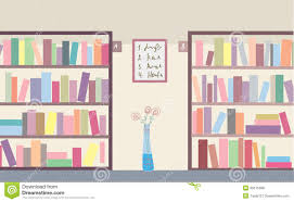 Free Bookshelves Library With Bookshelves Royalty Free Stock Photos Image 30575388