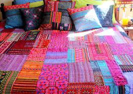 Patchwork Duvet Sets Patchwork Duvet Cover Hmong Batik Embroidery And Applique Cotton