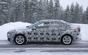 bmw u0027s baby 1 series sedan spied in production ready form