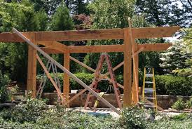 Timber Pergola Kits by Timber And Wood Western Timber Frame