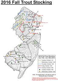 Map Of Middlesex County Nj Njdep Division Of Fish U0026 Wildlife Fall 2016 Trout Stocking Schedule