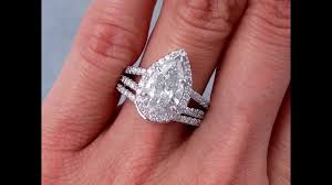 square engagement rings with band wedding rings modern pear shaped engagement rings pear shaped