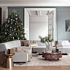 photos of living rooms decorated for christmas gorgeous