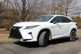 lexus nx vs rx 2017 lexus rx 450h hybrid gas mileage review