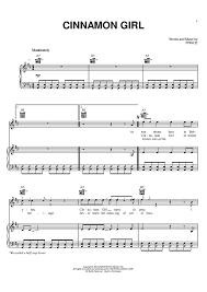 cinnamon sheet music music for piano and more