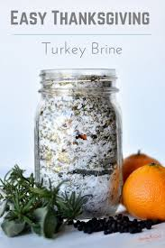 easy thanksgiving turkey brine mix recipe