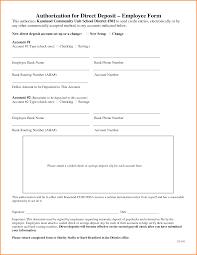 Authorization Letter For Bank Deposit Format 8 direct deposit authorization form authorization letter
