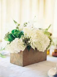 Wood Box Centerpiece by Rustic Wood Box Flower Centerpieces For A Country Chic Wedding