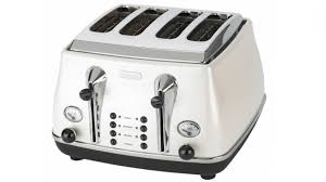 Delonghi Icona 4 Slice Toaster Black Delonghi Icona 4 Slice Toaster White Harvey Norman Australia