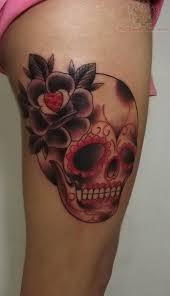 17 best sugar skull flower tattoo designs images on pinterest