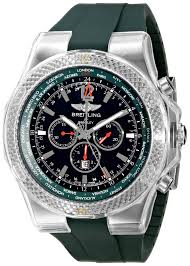 breitling bentley back breitling bentley gmt a47362s4 b919 wrist watch for men ebay