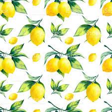 seamless lemon pattern watercolor seamless lemon pattern on white background watercolor