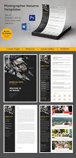 sle photographer resume template 51 creative resume templates free psd eps format