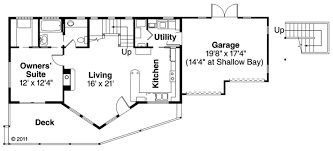 A Frame Floor Plan House Plan 59495 At Familyhomeplans Com