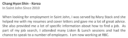 Rbc Resume Sjmnrc The Saint John Multicultural And Newcomers Resource