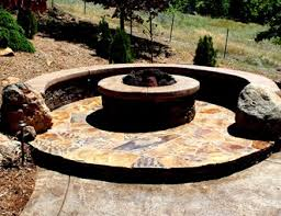 fire pit with seating fire pit pictures gallery landscaping network