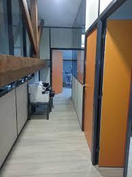 cloisonnette de bureau cloison de bureau amovible vitree semi vitree pleine sur aix