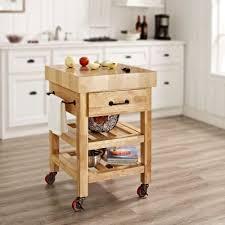 white kitchen island with butcher block top kitchen kitchen island with seating microwave cart with storage
