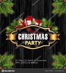 christmas party banner u2014 stock vector sonulkaster 133084972