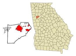 Northeast Georgia Map Douglasville Georgia Wikipedia