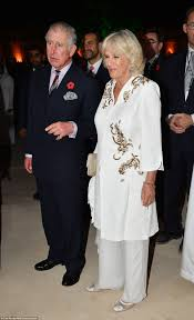 prince charles and camilla attend an event at the historic al