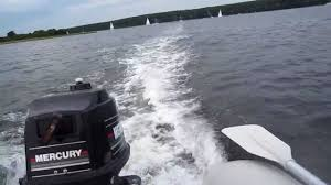 seago 260 4hp mercury onboard ride youtube