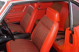 1968 Firebird Interior Camaro Headrests Crg Research Report