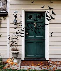 Front Door Decoration Ideas 19 Hauntingly Awesome Halloween Door Decorating Ideas Spaceships
