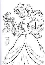 free printable disney princess coloring pages kids ariel