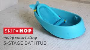 Bathtub Drain Lever Cover Baby by Skip Hop Moby Smart Sling 3 Stage Tub In Blue Buybuy Baby