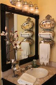 best images about small bathroom colors ideas add molding wooden square medallions your plain bathroom mirror for designer look
