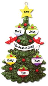 happy personalized ornaments