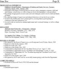 social worker resumes resume of a social worker social work resume templates free worker