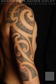 maori sleeve shane tattoos maori 3 4 sleeve