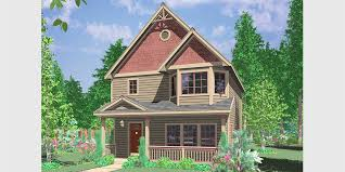 houses for narrow lots narrow lot house plans building small houses for small lots