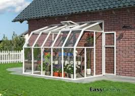 Lean To Pergola Kits by Rion Lean To 6x10 Sun Room 2 Clear Wall Greenhouse Kit