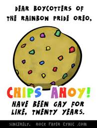 Gay Pride Meme - oreo s gay pride cookie controversy image gallery know your meme