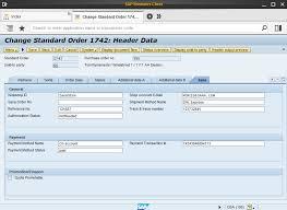 sales order table in sap sales order data