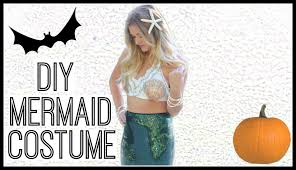 mermaid tails for halloween diy mermaid halloween costume style by dani youtube