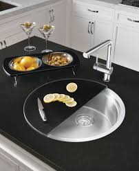 Round Kitchen Sink by Types Of Kitchen Sinks Kitchen Sink With Cutting Board Round