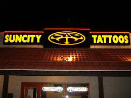 sun city tattoos piercing shop el paso