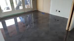 Laminate Flooring Victoria Concrete Floor Finished With Metallic Epoxy Victoria B C South