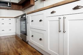 refinishing kitchen cabinets reddit should you paint or stain your kitchen cabinets for an easy