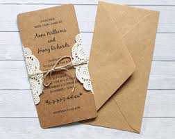 Rustic Invitations Invitations U0026 Announcements Etsy Uk