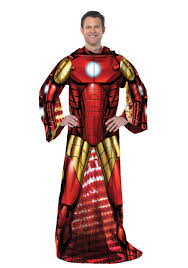 Halloween Gifts For Adults by Iron Man Comfy Throw