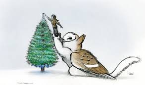 merry christmas owl griffin by robthedoodler on deviantart